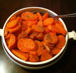 carrots cooked
