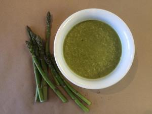 Drink your greens! Try our newest soup made with Ontario asparagus.